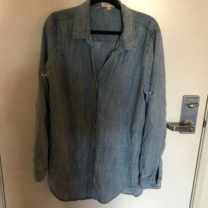 CLOTH AND STONE Light Blue Button Up. Sz XXL.